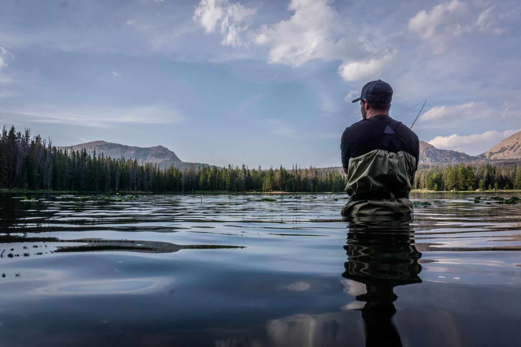 Best fly fishing waders in action